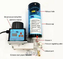 0.8L 24V Electronic Grease Oiler Pump Punching Oil Lubricating Automatic Machine