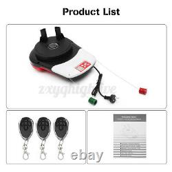 1000N Automatic Garage Roller Opener Door Electronic Power 100W with 3 Remote 110V