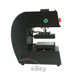 110V Electronic 1-2 Ton Rosin Press Dual Heating Plates