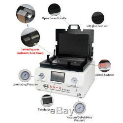 110V LCD Touch Screen Vacuum Bubble Removal Machine Automatic Laminating Machine