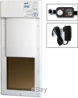 12 x 16 Inch Power Pet Large Electronic Fully Automatic Dog Cat Electric Door