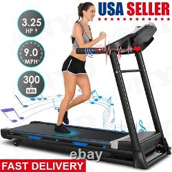 3.25/2.25HP Electric Motorized Automatic Incline Running Machine (US Stock)