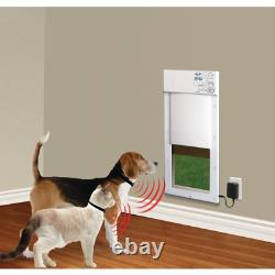 8 in. X 10 in. Power Pet Electronic Fully Automatic Dog and Cat Door
