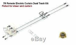 82 Electronic Automatic Blind Double Traverse Tracks For Drapes and Sheers
