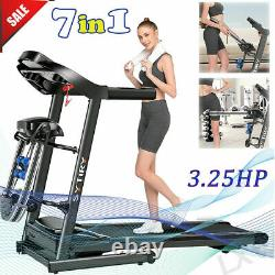 ANCHEER Folding Treadmill for Home with Automatic Incline, Bluetooth Speaker 390