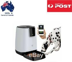 APP Automatic WIFI Pet Feeder Bowl Smart Dog Cat Remote Timer Voice Chat Feed