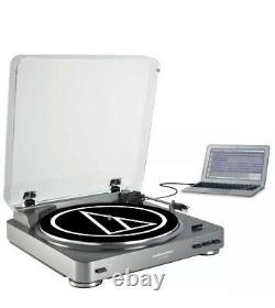 Audio Technica AT-LP60USB Fully Automatic Belt Driven Turntable withUSB Port