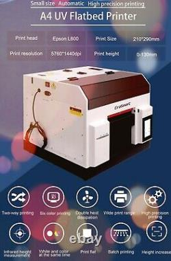 Automatic A4 inkjet printer flat printer is suitable in a wide range of