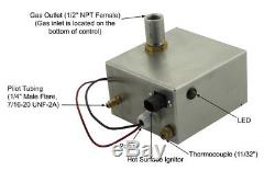 Automatic Electronic Igniter Kit / Control System for Fire Pit & Fireplace