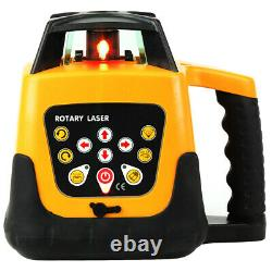 Automatic Electronic Self-Leveling 360° Rotary Rotating Red Laser Level Kit