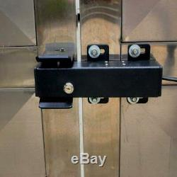 Automatic Electronic Swing Gate Lock Stainless Steel Operator Opener System Fit