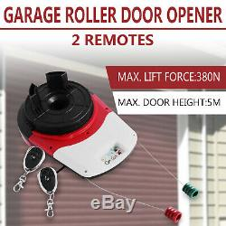Automatic Garage Roller Remote Door Opener LED Light Powerful Electronic HOT