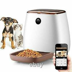 Automatic SMART Pet Feeder with 1080P HD Wifi Camera, Smart Feed Auto Pet Food