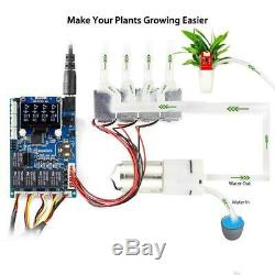Automatic Smart Plant Water Kit for Arduino Electronic W LCD DIY Garden System