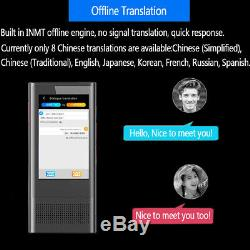 Automatic Translator 4G Offline Electronic Pocket Voice Text Bluetooth Real Time
