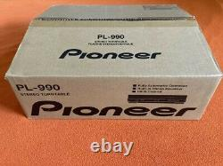 BRAND NEW Pioneer PL-990 Stereo Automatic Turntable Factory Sealed Original Box