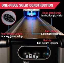 Bowling Classic Arcade Game Automatic Pin System Electronic Scorer 1-2 Players
