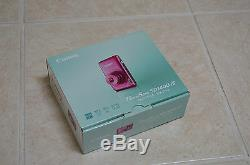 Brand New Pink Canon PowerShot ELPH SD1400 IS 14.1MP 4X Zoom Digital Camera $399