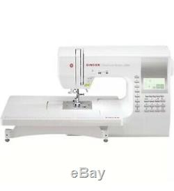 Brand New Singer 9960 Quantum Stylist Electronic Sewing Machine