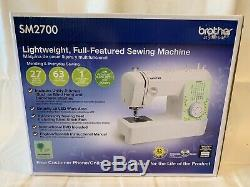 Brother 27-Stitch Sewing Machine Automatic Threading SM2700 Ships Same Day