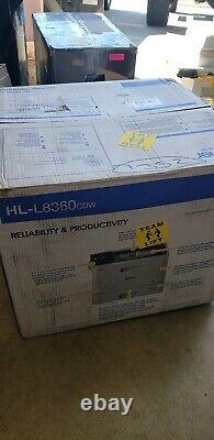 Brother Business Color Laser Printer, HL-L8360CDW Wireless Networking, Automatic