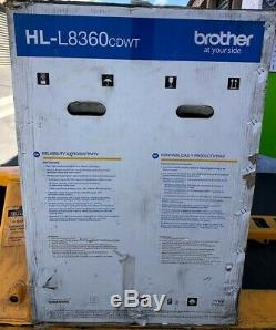 Brother HL-L8360CDWT Business Wireless Color Laser Printer with Automatic Duplex