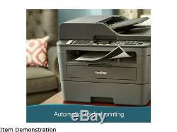 Brother MFC-L2710DW Wireless Duplex Compact All-in-One Monochrome Laser Printer