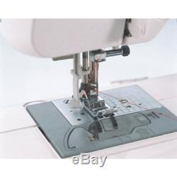 Brother Sewing Machine Electronic Quilting Builtin Stitch Portable Sew White