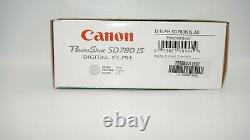 Canon Powershot SD780IS Digital ELF Camera Silver FREE SHIPPING New