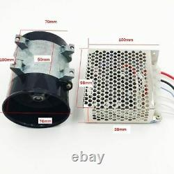 Car Electric Turbine Power Turbo Charger Intake Fan Automatic Speed Regulation