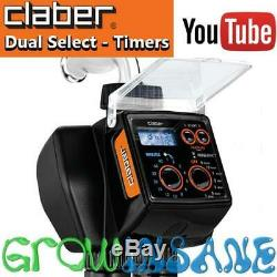 Claber Dual Select Dual Automatic Water Timer Controller Electronic