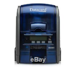 Datacard SD360 ID Card Printer Automatic Dual Sided