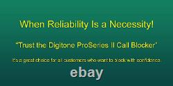 Digitone ProSeries II Call Blocker for Landline Phones The Automatic Blocker