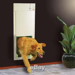 Electric Pet Door 2 Collars Home Safety Large Electronic Fully Automatic Dog Cat