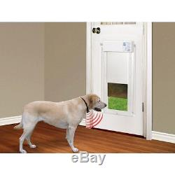 Electric Pet Door Home Safety Large Electronic Fully Automatic Dog Cat Pets