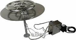 Electronic Flame Control Ignition Module NG or LP Automatic Fire Pit Igniter
