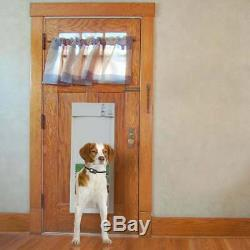 Electronic Medium Size Pet Sliding Door For Dog Cat Automatic Collar Entry Exit