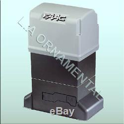 FAAC 844 Residential Chain Automatic Slide Gate Opener 230 VAC Electronic Opener