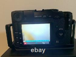 Fujifilm X Series X-Pro1 16.3MP Digital Camera Black With Two Lens And Upgrades