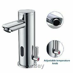 Fyeer Automatic Electronic Sensor Touchless Faucet, Motion Activated Hands-Free