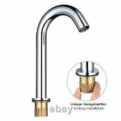 Hand Free Touchless Sensor Faucet Electronic Automatic Mixer Tap Bathroom Faucet