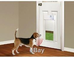 High Tech Pet 8 in x 10 in Power Pet Electronic Fully Automatic Dog Cat Door