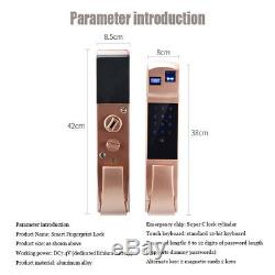 Intelligent Electronic Automatic smart fingerprint lockFingerprint Door Lock