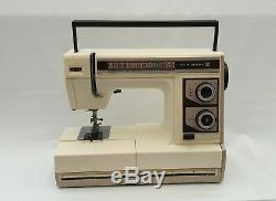 Janome (New Home) Automatic Electronic Sewing Machine for Heavy Duty Work + Feet