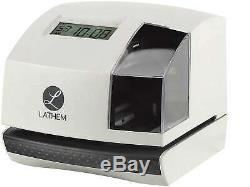 Lathem Automatic Electronic Time Clock and 100E