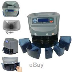 Led Display Digital Automatic Electronic Coin Counter Sorter Machine Coin Sorter