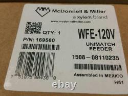 McDonnell Miller WFE-120V, WFE-120 169560 Unimatch Automatic Water Feeder NOS