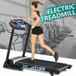 NEW 3.25/2.25HP Electric Motorized Automatic Incline Running Machine (US Stock)