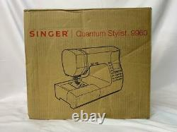 NEW IN BOX SINGER 9960 Quantum Stylist Computerized Portable Sewing Machine