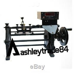 NEW Semi-Automatic Coil Winding Machine Hand Coil Winder with Electronic Counting